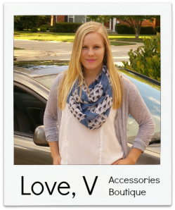 scarf boutique love v