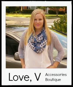 scarf boutique love v